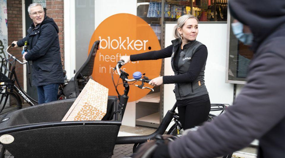Blokker koerier click collect