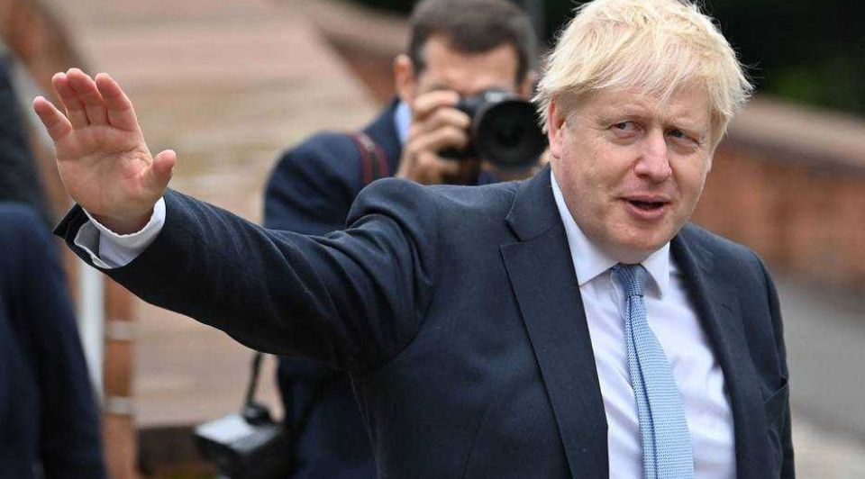 Boris johnson brexit londen
