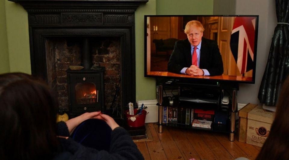 Boris johnson londen brexit corona