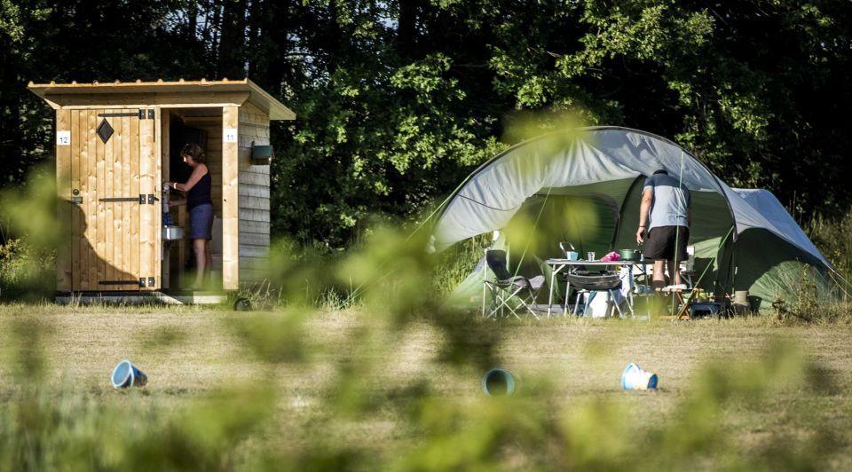 Camping sanitair