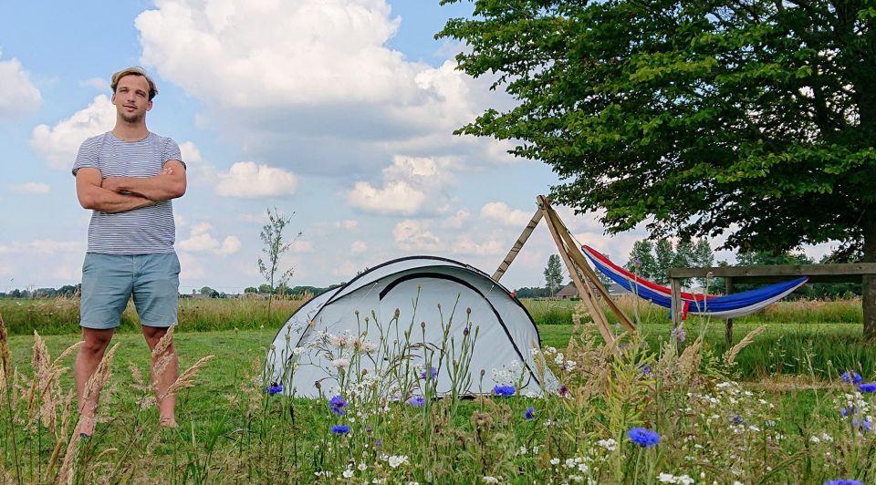 Campspace Hugo van Donselaar staand