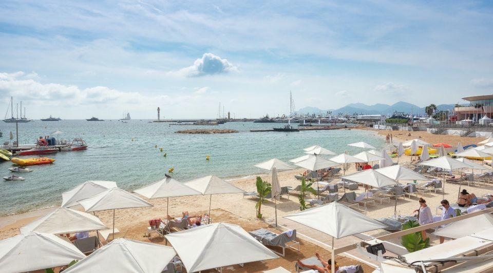 Cannes frankrijk strand toerisme