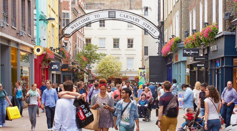 Carnaby street londen winkelen