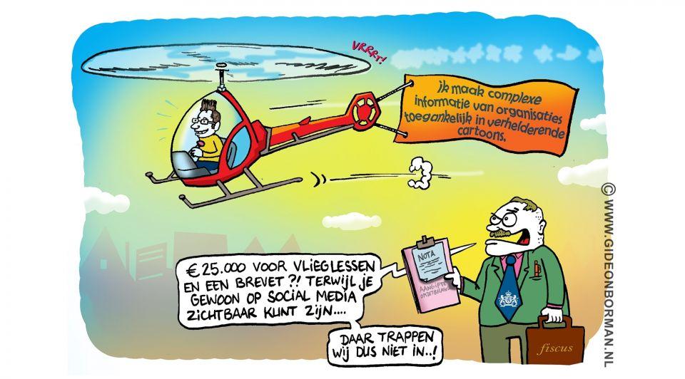 Cartoon voeding gideonborman