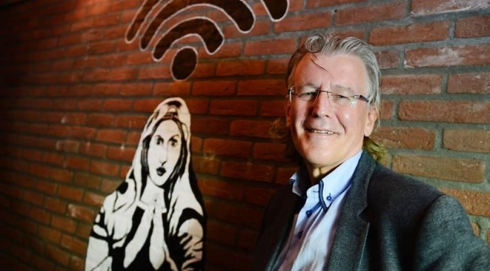 Cees links uitvinder wifi