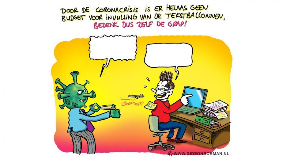 Corona bonus cartoon 2