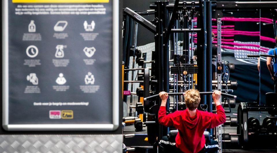 Corona sportscholen fitnesscentra open 1juli