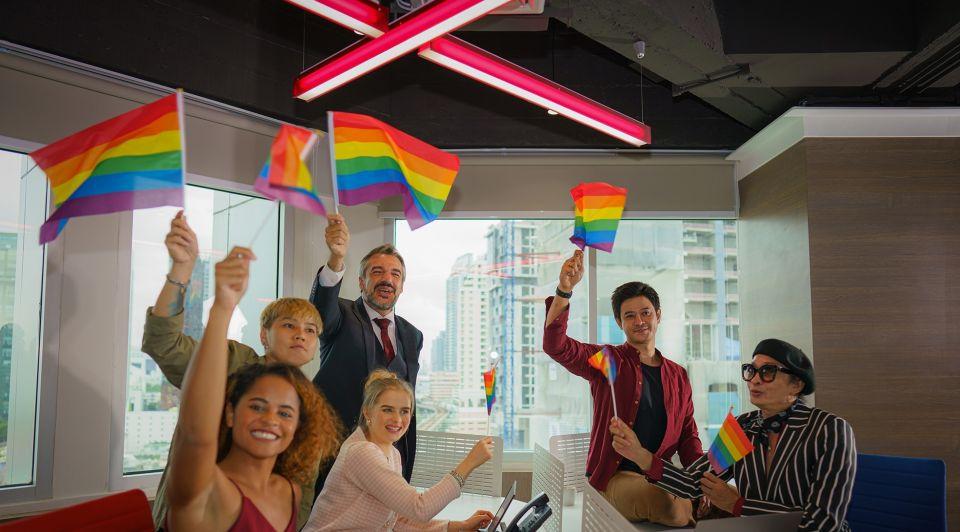 Corporate queer diversiteit werkvloer