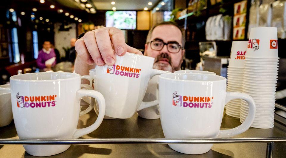 Dunkin donuts filiaal amsterdam