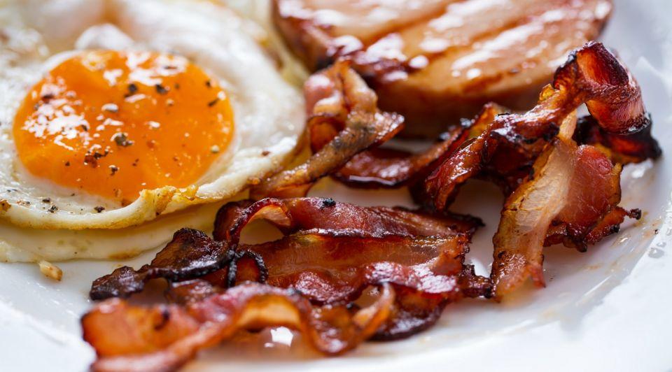 Eieren spek bacon eggs