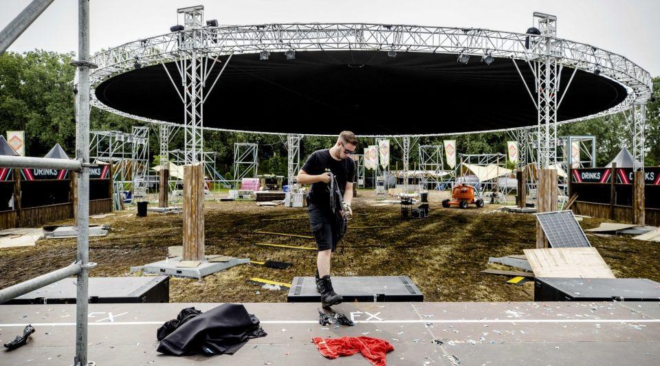 Evenementen festivals afgelasting