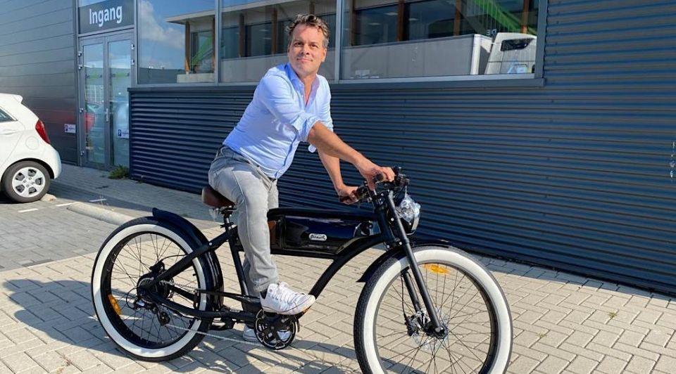 Fietsuniek Peter Paul Kester doorstart fietsen markt