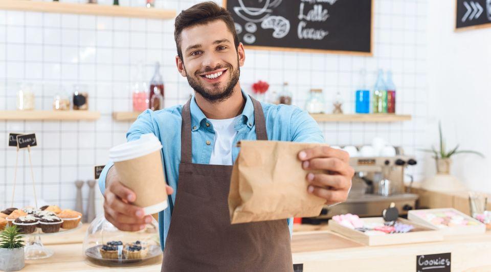 Food coffee to go horeca