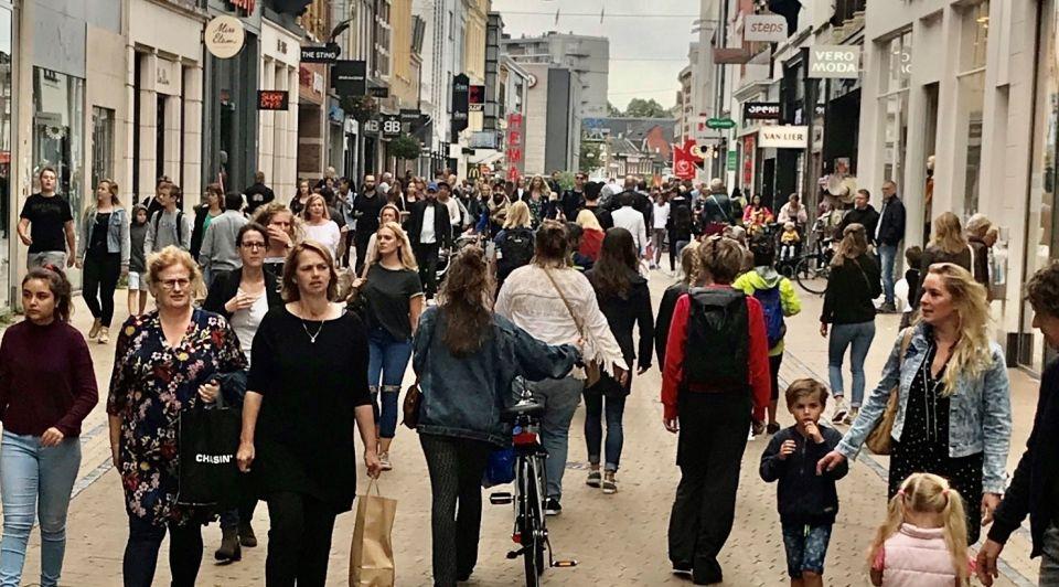 Groningen herestraat winkelstraat winkelen