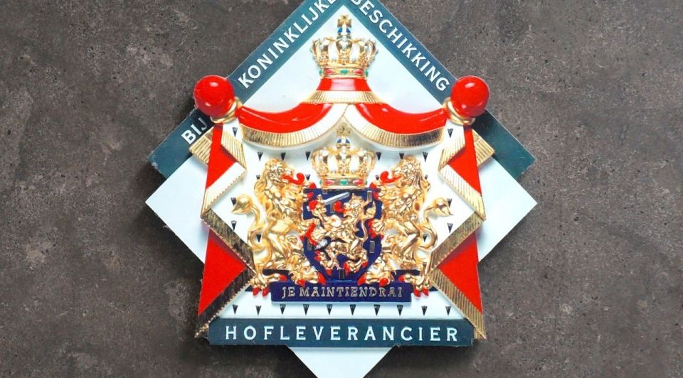 Hofleverancier koninklijk