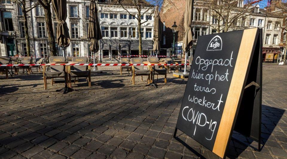 Horeca terras gesloten coronacrisis lockdown