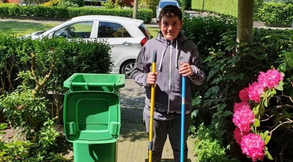 Ilyas jonge ondernemer tuinen