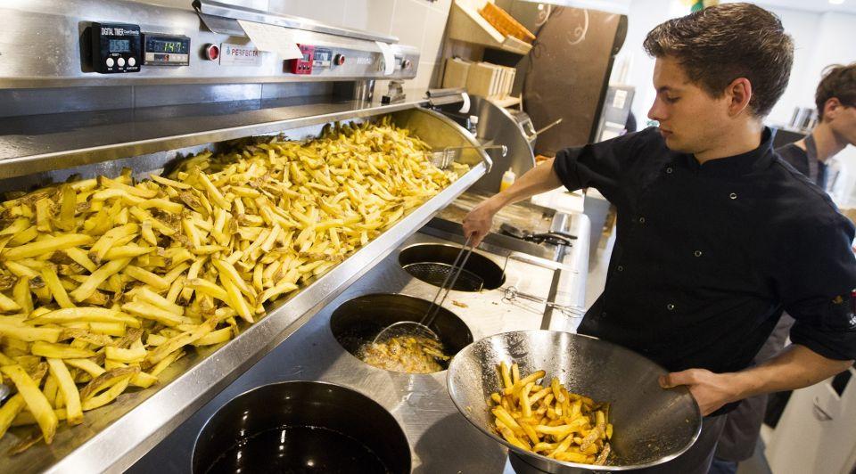 Kartel vorming frituur vet cafe restaurant