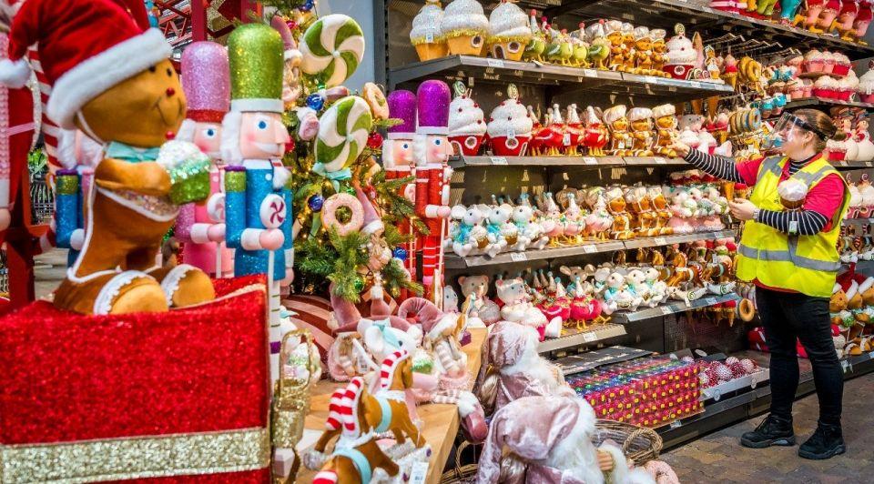 Kerstman kerst kerstwinkel