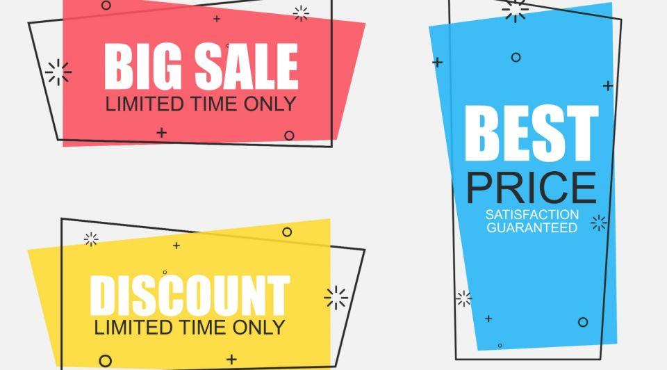 Korting aanbieding sale