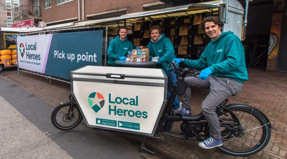 Local heroes pick up point dragons den