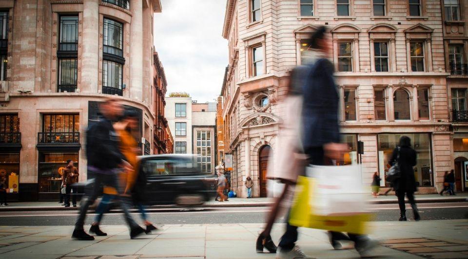 Londen winkelstraat brexit