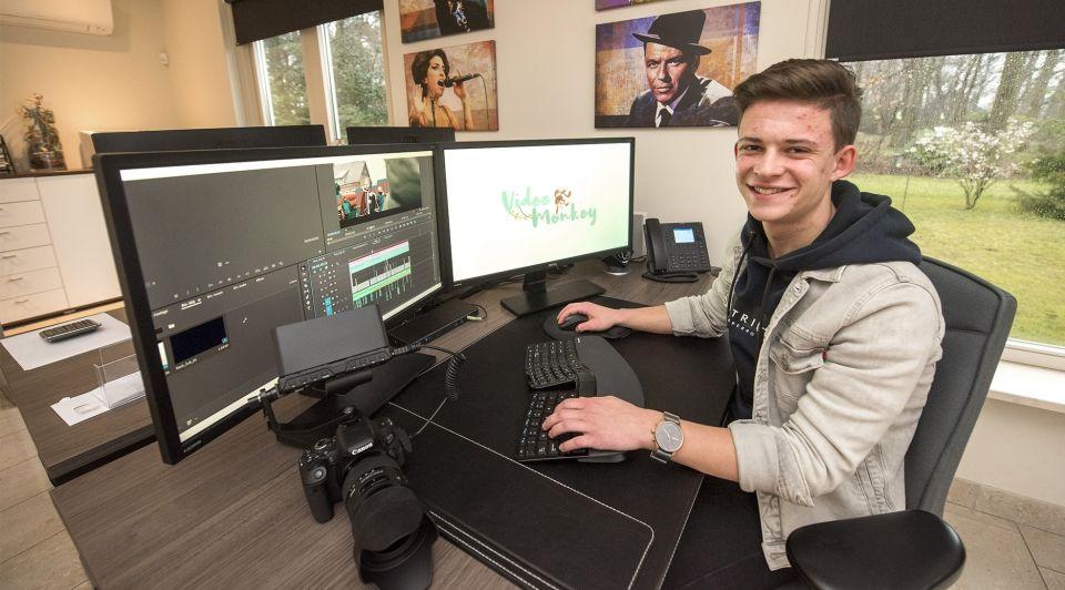 Melvin dirks jonge ondernemer video