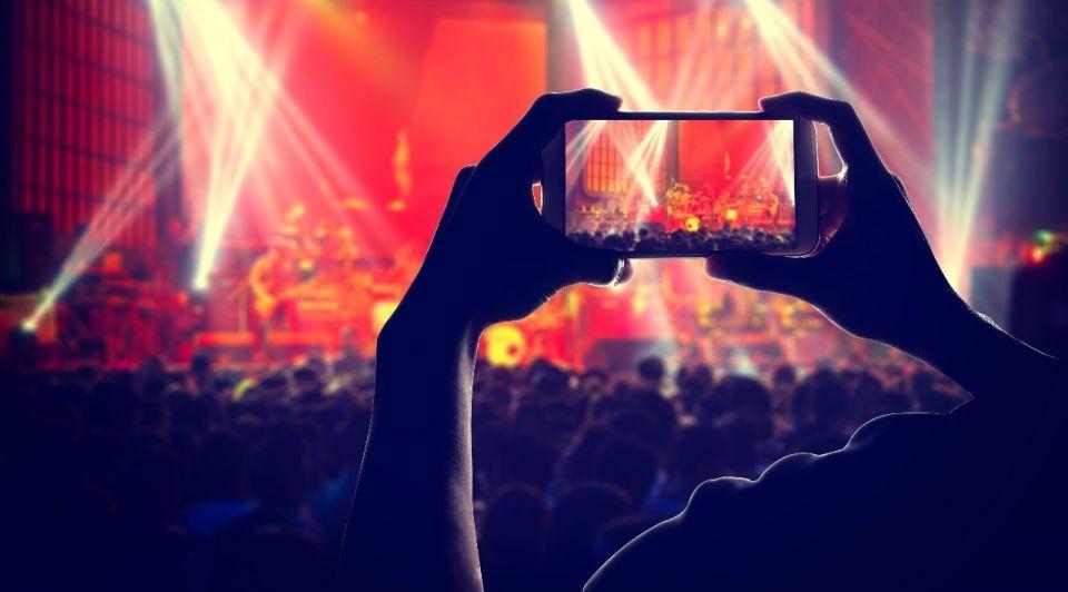 Mobiel evenenement publiek coronacrisis