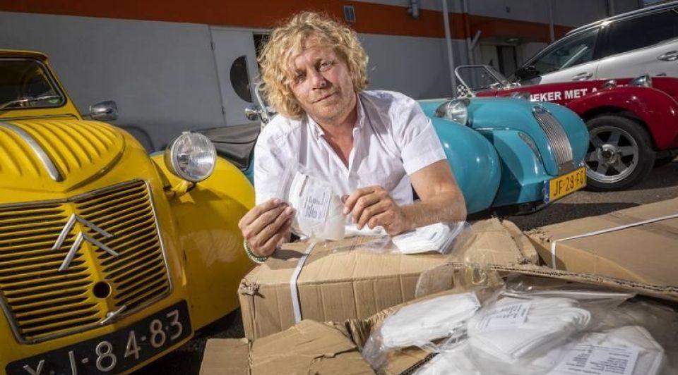 Mondkapjes naar nederland halen ondernemers gobel burton