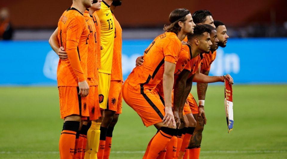 Nederlands elftal oranje voetbal ek