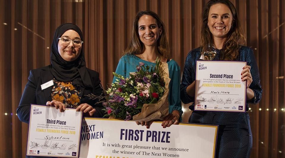 Next women winnaars 1