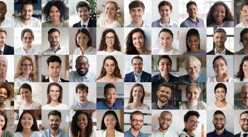Ondernemers mensen gezichten
