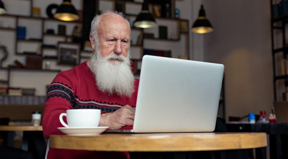 Ouderen gepensioneerden ondernemers werk