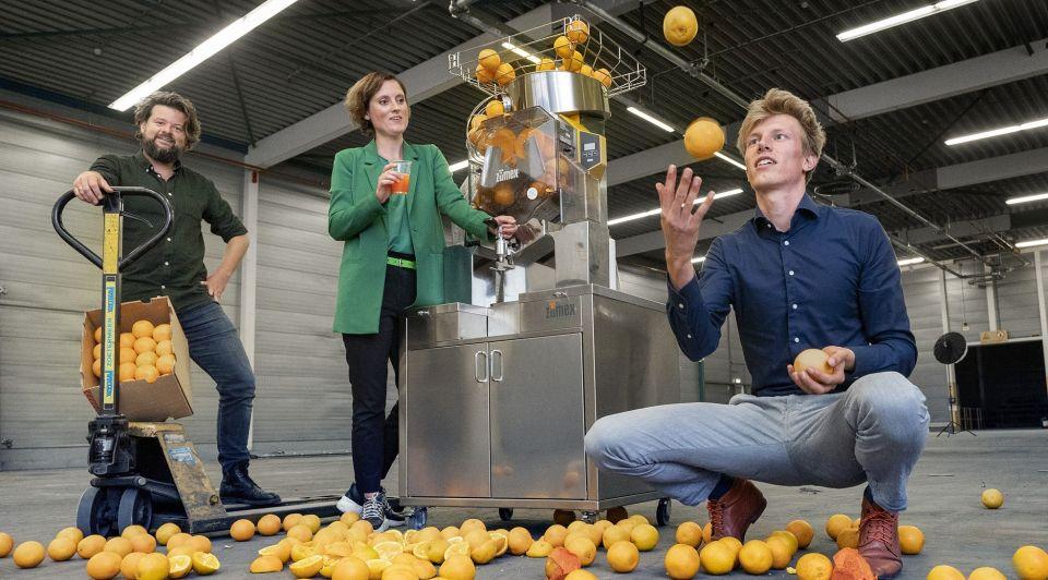 Peel pioneers ondernemers sinaasappelen