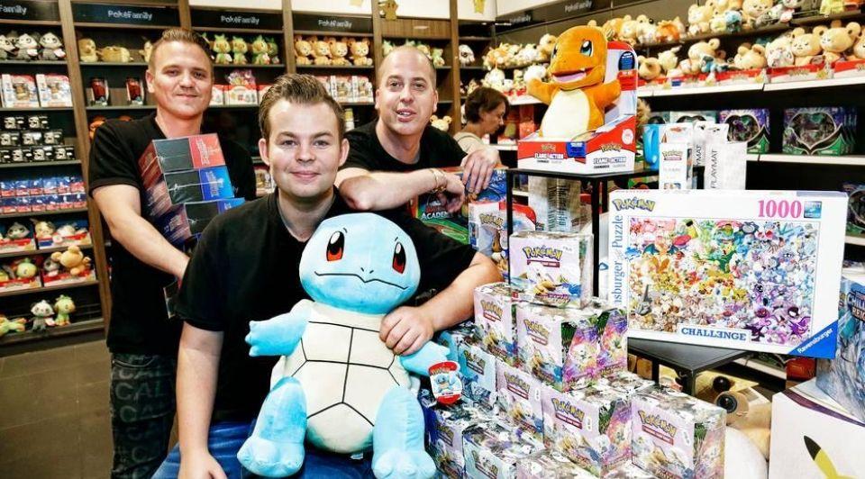 Pokemon winkel pokefamily