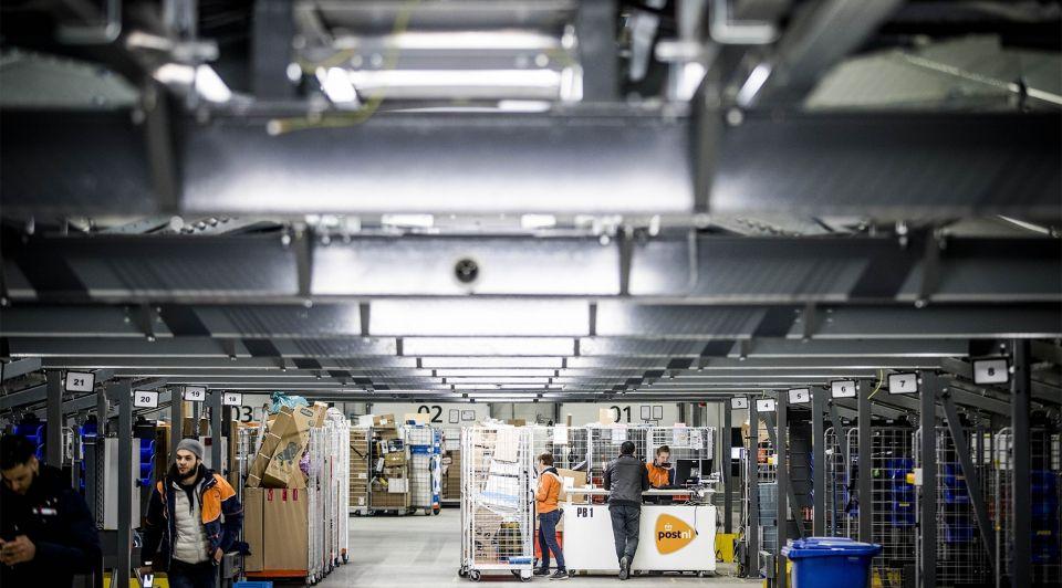 Post NL sorteercentrum online winkels