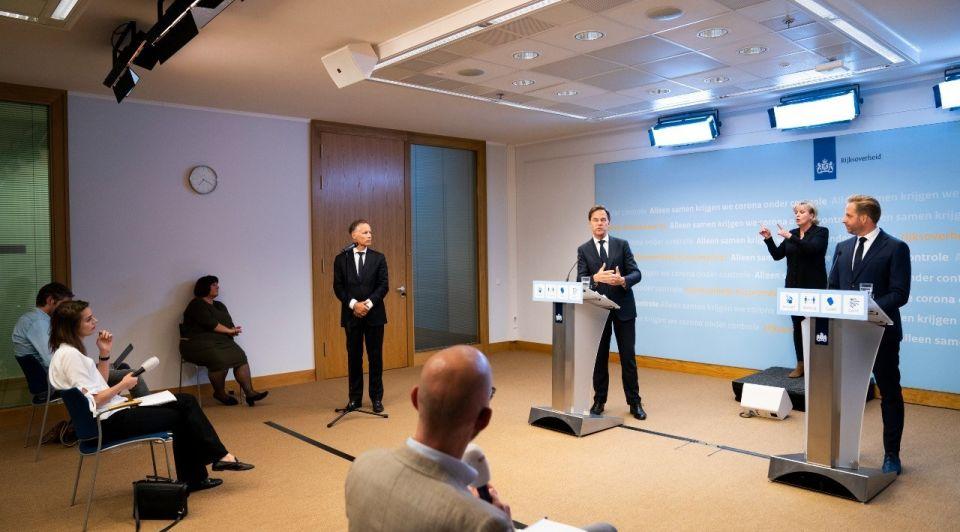 Rutte dejonge persconferentie 13 augustus