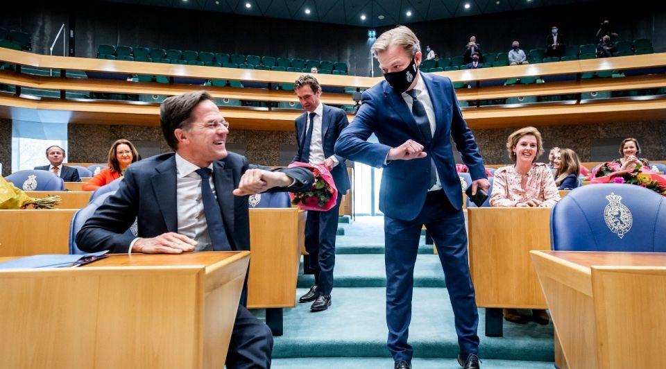 Rutte omtzigt tegenmacht politiek tweede kamer