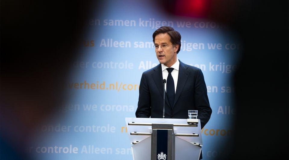 Rutte persconferentie 8 maart