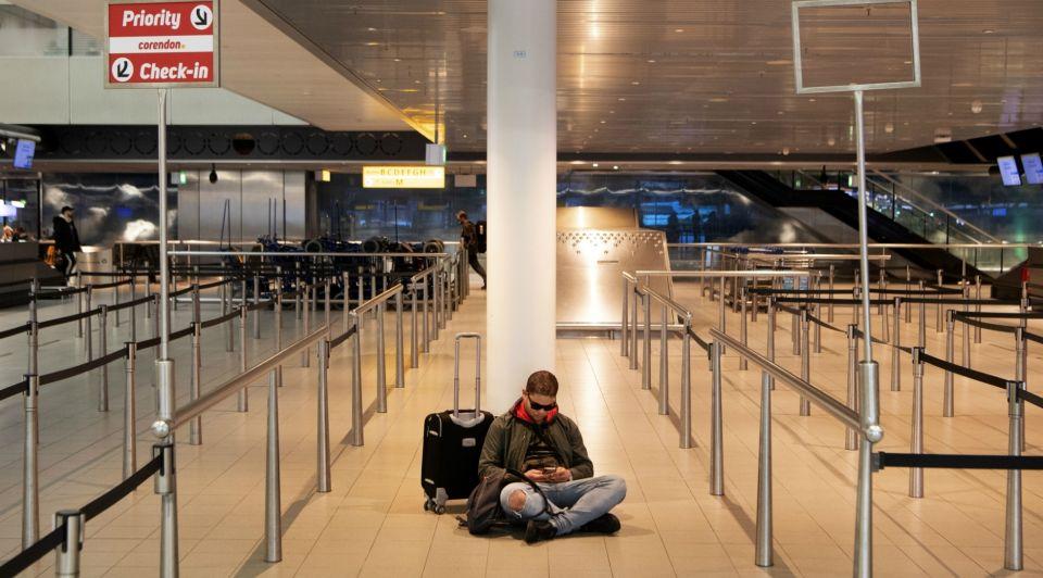 Schiphol luchthaven corona
