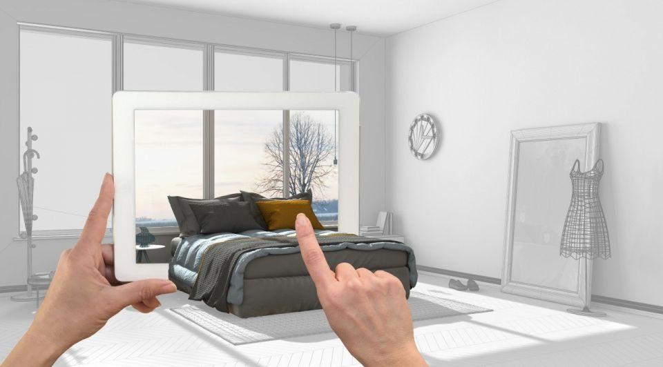 Slaapkamer augmented reality