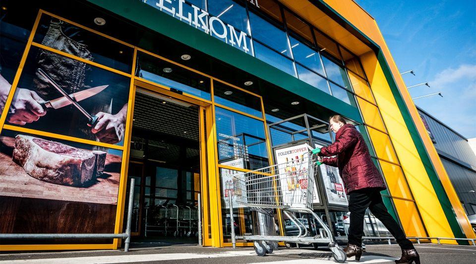 Sligro makro groothandel open corona
