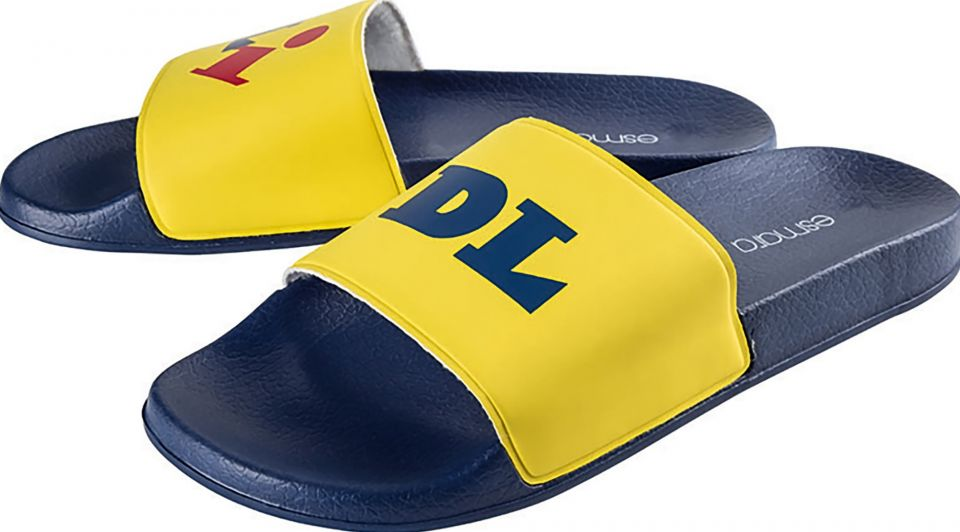 Slippers lidl fashion
