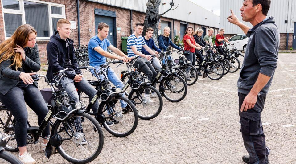 Solex recreatie mobiel brommer vervoer NR1 Solex Verhuur Paul Tuerlings