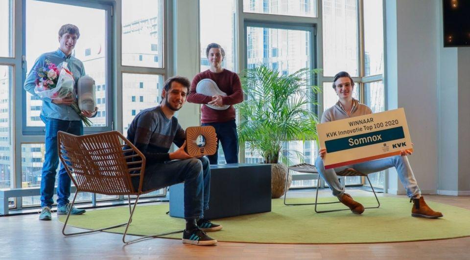 Somnox team slapen bed innovatie