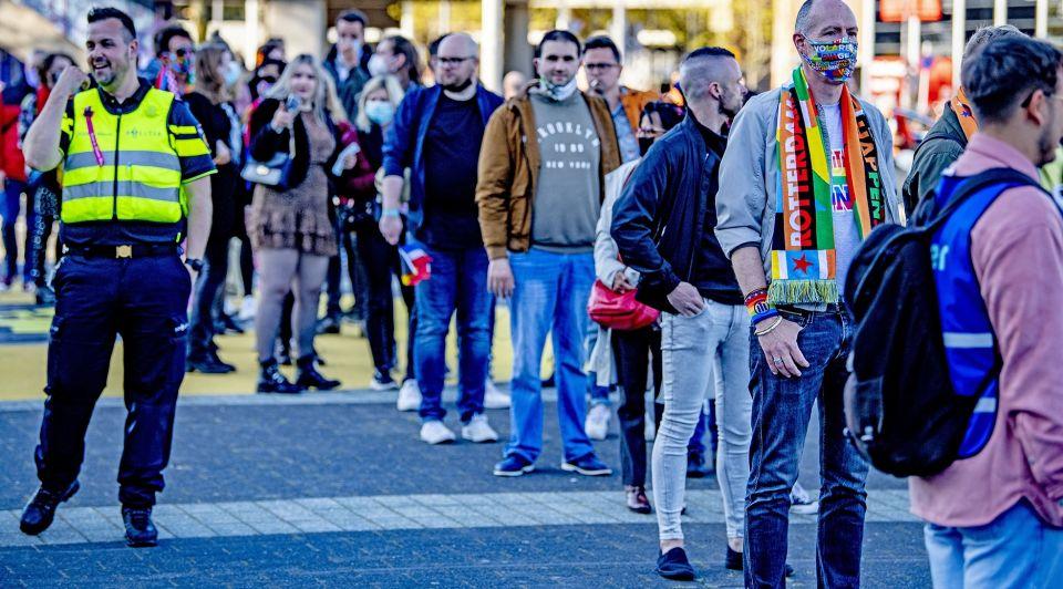 Songfestival publiek ahoy rotterdam