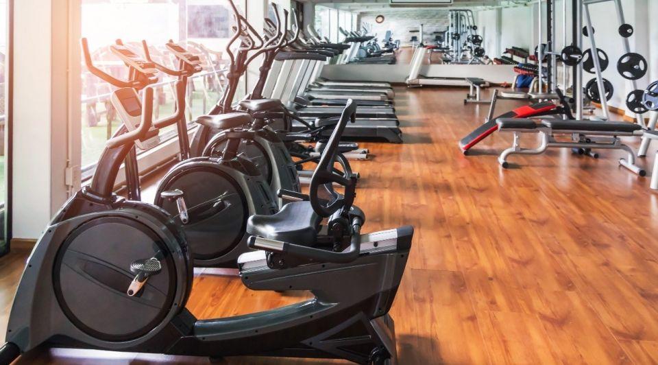 Sportschool fitness dicht corona lockdown
