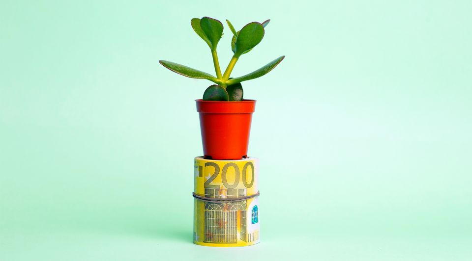 Startup miljoenen investering