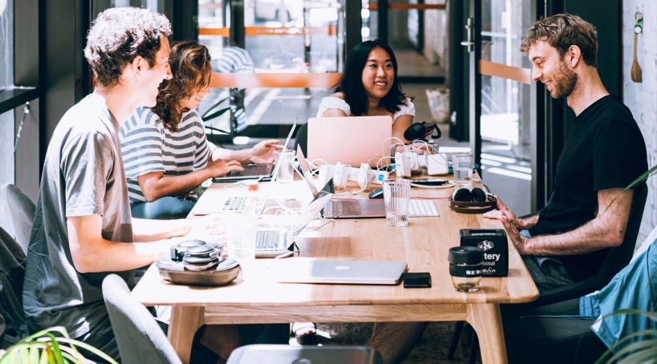 Startups banenmotor