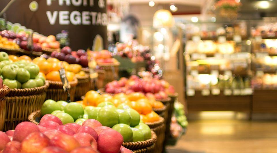 Supermarkt groente winkel horeca corona retail